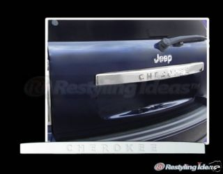 Jeep Grand Cherokee Chrome Tailgate Cover 2005 2009