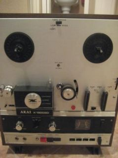 Akai Cross Field x 1800SD Reel to Reel Tape Deck with 8 Track Player