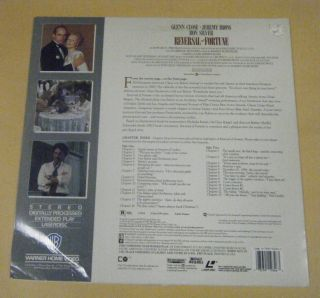 of Fortune Laser Disc Glenn Close Jeremy Irons Ron Silver 1990