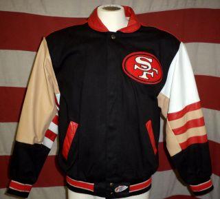 Jeff Hamilton San Francisco 49ers Leather Jacket