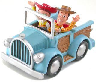 Disney Toy Story Woody Jessie Pull Back Car Toy New