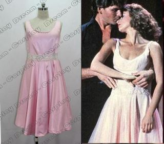 Dirty Dancing Jennifer Grey Baby Pink Dress Costume