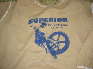 Vintage Old School BMX Jeff Bottema Forks Perry Kramer Tee Shirt