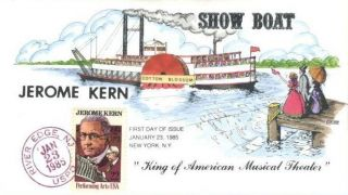 Collins Hand Painted 2110 Jerome Kern Show Boat King of American