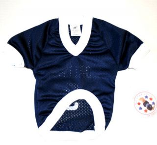 Dallas Football Number 9 Blue Jersey for Dogs