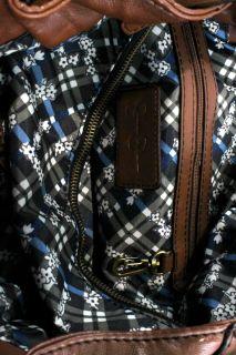 Jessica Simpson New Brown Signature Tote Handbag Extra Large BHFO