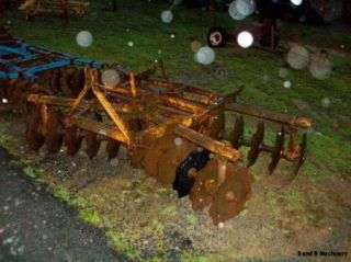 Taylor Way 7 Disc Plow Cultivator
