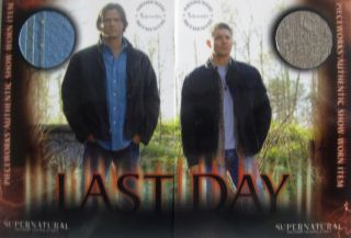 Supernatural Series 3 PW13A PW13B Jenson Jared Costume Card New RARE