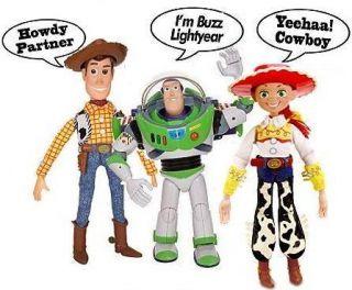 Disney Toy Story 3 TALKING Woody, Jessie, Buzz Lightyear Action figure