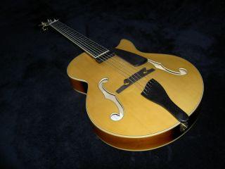 Pristine Peerless Martin Taylor Maestro Jazz Archtop Electric Guitar w
