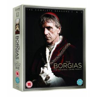 Borgias Seasons 1 2 Box Set Region Free Blu Ray Jeremy Irons