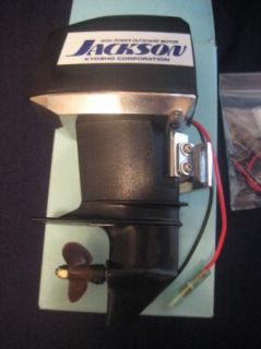 Kyosho Jackson RS 540 Outboard Boat Motor New in Box