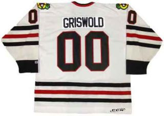 Christmas Vacation Griswold Chicago Blackhawks Jersey