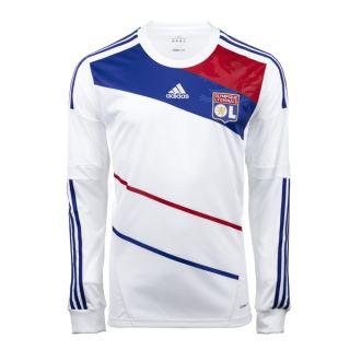 2012 13 Olympique Lyon OL Home L s Soccer Jersey Football Shirt