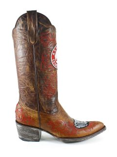 The University of Alabama Gameday Boots Womens Cowboy Boots Shoes 7 5