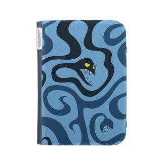 Heart Shaped Eyed Evil Cartoon Snakes Kindle 3G Covers