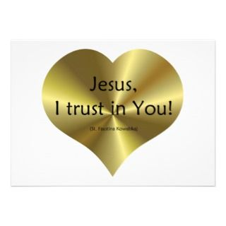 Divine Mercy   Jesus I trust in You  Announcement