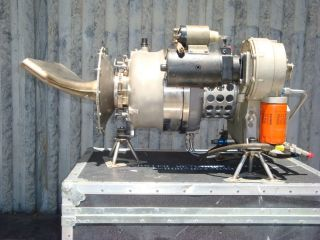 Tiernay TT10 Gas Turbine Jet Engine Running Tested 4 5 Hours Total
