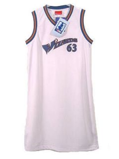 Washington Wizards Womens NBA Jersey Dress Size Large 12 14
