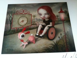 Signed Limited Edition Print Very RARE Jessicas Hope Print