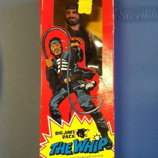 RARE 1975 Mattel Big Jim P A C K The Whip Factory SEALED