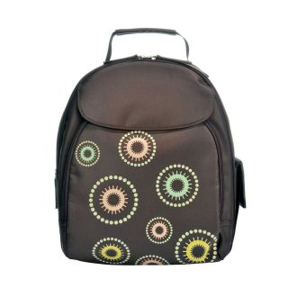 Jill E Backpack Kaleidoscope Design SLR Womens Camera Case Nylon
