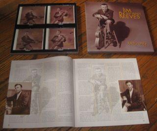 JIM REEVES Radio Days BEAR FAMILY Louvin Brothers Chet Atkins Jean