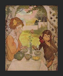 Beauty and The Beast Jessie Willcox Smith C 1930