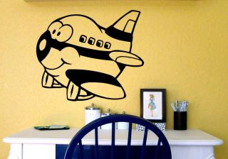 Jimbo Jet Airplane Kid Room Wall Vinyl Decal Sticker