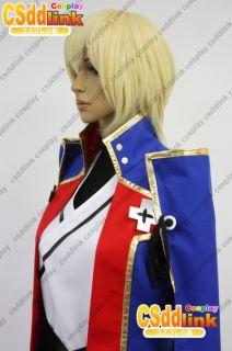 BlazBlue Jin Kisaragi Cosplay Wig Costume