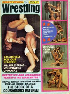 Cynara Denise Women Apartment Sports Review Wrestling Magazine January
