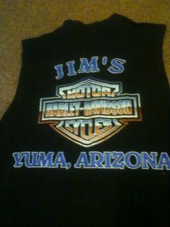 Jims Harley Davidson Yuma Arizona Mens Sleeveless Muscle T Shirt