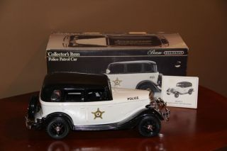 Police Patrol Car Jim Beam Decanter Collectible Unopened