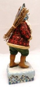 Jim Shore Heartwood Creek Santa Christmas Traveler F4005448 2006 Stafe