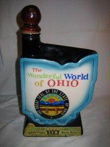 Antique Jim Beam Decanter Ohio