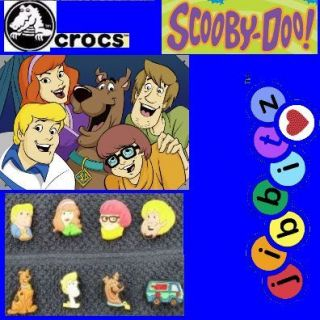 Crocs Jibbitz Scooby Doo Hanna Barbera Set See Bonus
