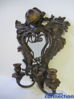 1500 Bronze Jack Skellington Nightmare Jody Daily Display Wall Mirror