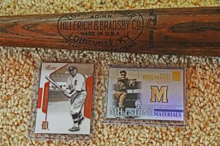 Louisville Slugger BONE RUBBED Harry Heilmann 35 1930s Topps card game