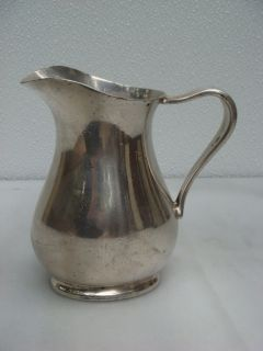 Antique USN United States Navy Reed Barton Creamer
