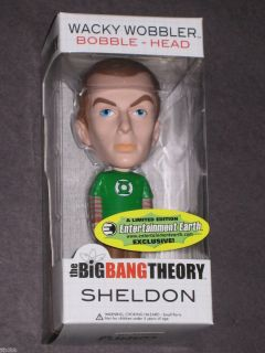 Big Bang Theory Sheldon Cooper Limited Bobble Head Figure Jim Parsons