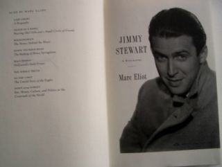 Jimmy Stewart by Marc Eliot 1st Edition Hardcover DJ 1400052211
