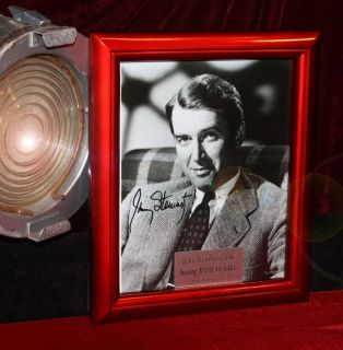 Jimmy Stewart Zuzu Signed Its A Wonderful Life COA DVD Ornament UACC