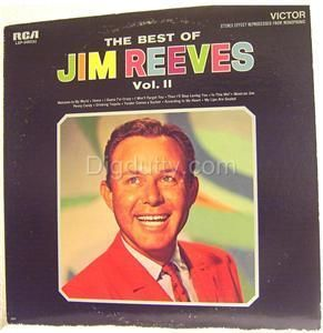 The Best of Jim Reeves Vol 2 Vinyl LP Nice