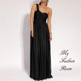 Stunning One Shoulder Cocktail Formal Evening Dress Jodhi NEW sz 10