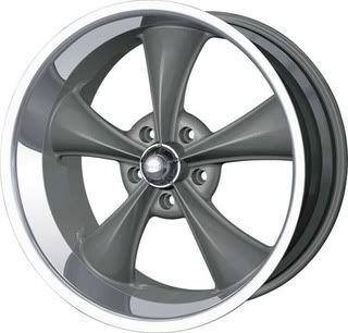 5x4 75 Camaro GTO Nova Chevelle Malibu LeMans Grey Wheels Rims
