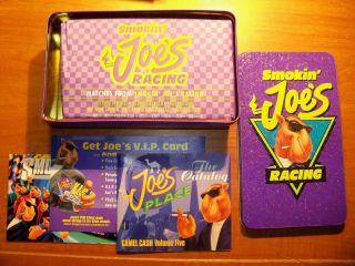 Smokin Joes Racing New Original Tin  with Matches Original Catalogs