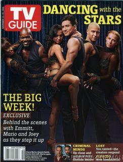 Mario Lopez Joey Lawrence TV Guide November 2006 Edyta