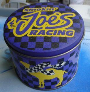 Smokin Joes Collector Tin Racing Match Books