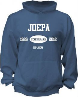 Joe Paterno Hooded Sweatshirt Football Hoodie Memorial Sweatshirt Penn