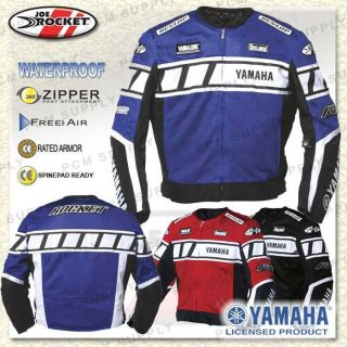 Joe Rocket Yamaha Mesh Waterproof Jacket Red SM